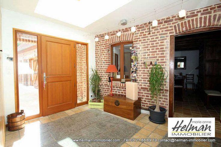 Vaudringhem : Lumbres longère restaurée 15 pièces 258 m²