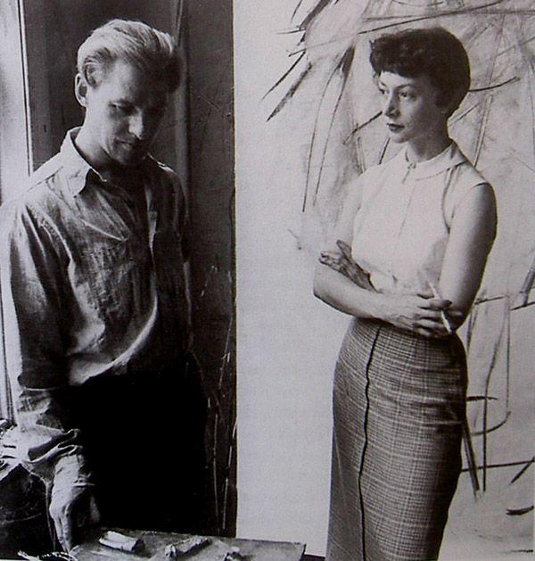 Elaine and Willem De Kooning
