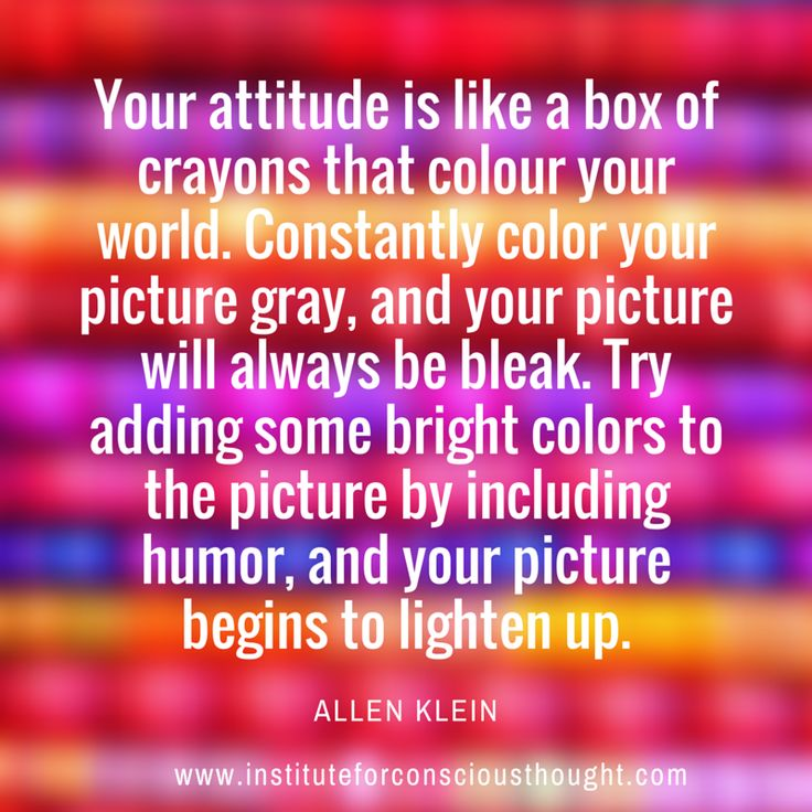 Add some colour to your thinking!