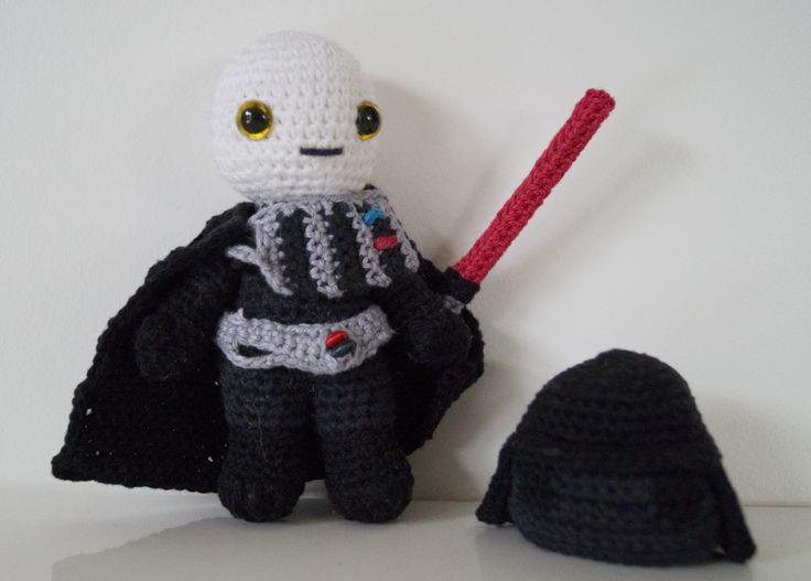 Amigurumi Snake Pattern Free : Amigurumi Star Wars Darth Vader Amigurumi Pinterest ...