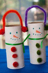 First Grade Winter Activities: Snowmen