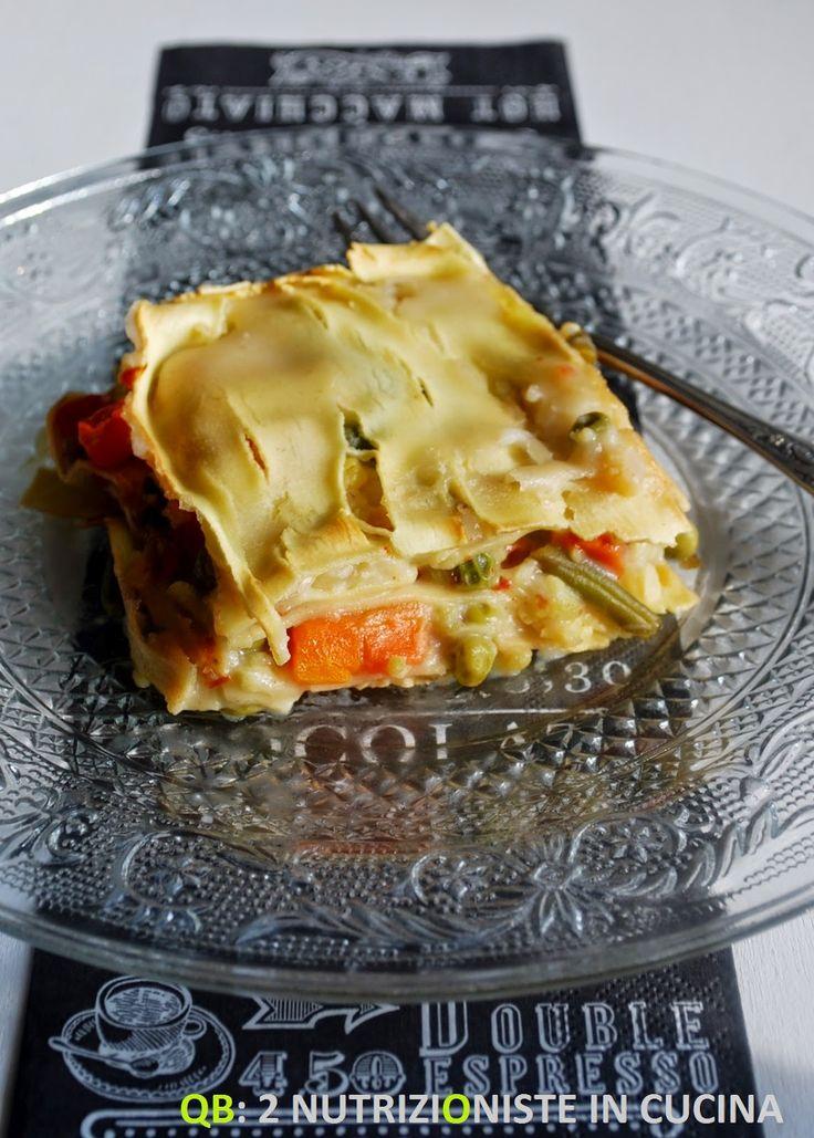 Q B Le ricette light: Lasagnette con verdure e besciamella di latte di riso