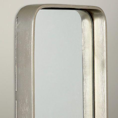 Buy John Lewis Oblong Metal Mirror, 76 x 15cm Online at johnlewis.com