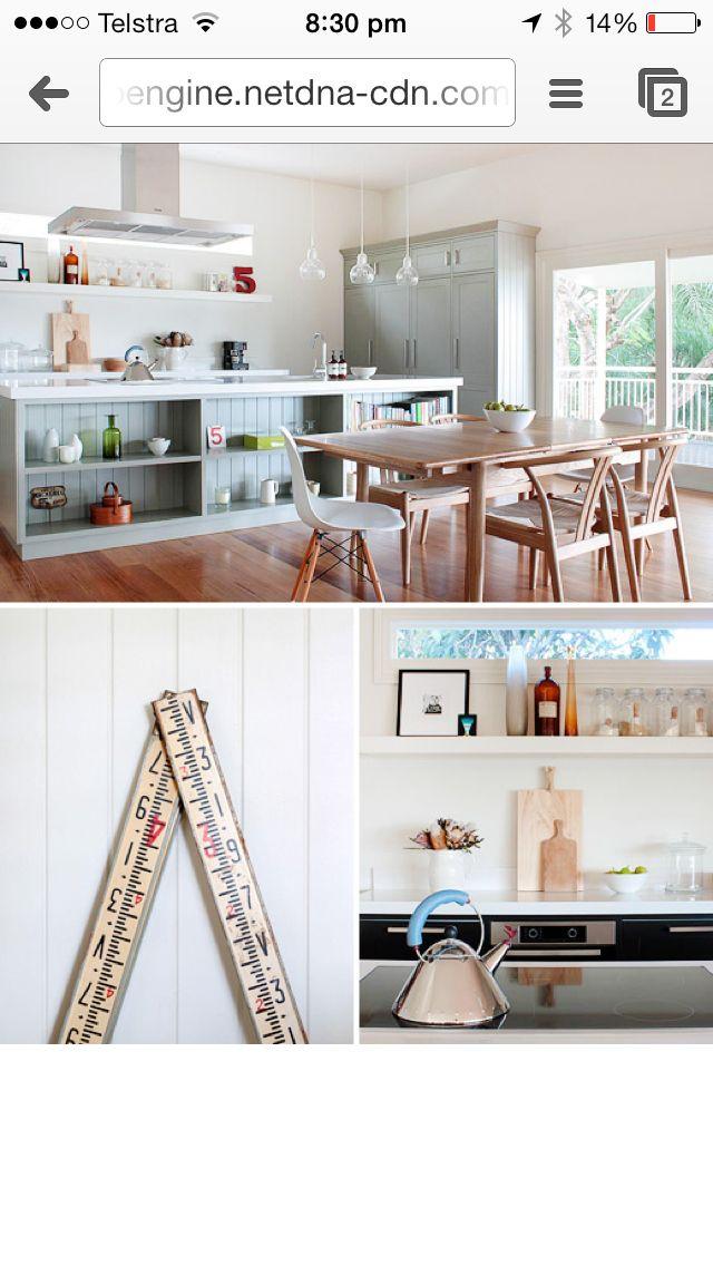 Kitchen, island bench, storage