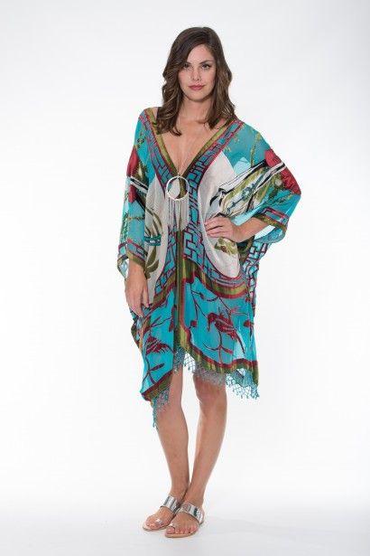 Boho Silk Collection – Geisha Design Kaftan Ladli Australia  Silk Velvet.