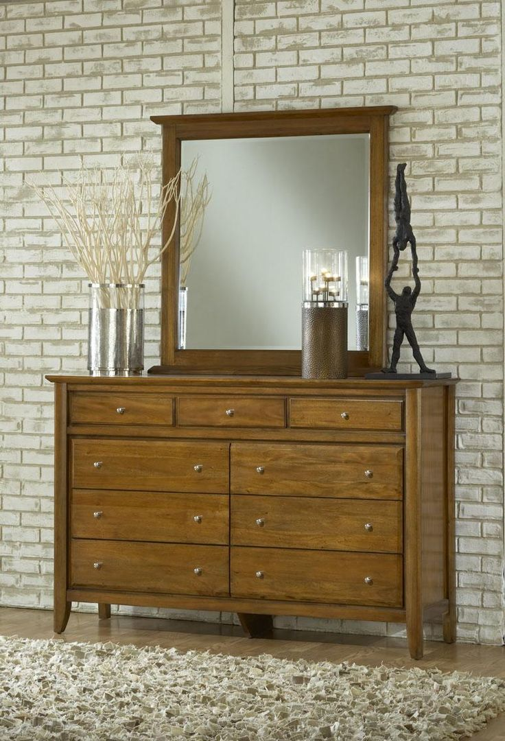 Modus Furniture City 2 Pecan Dresser Bed And Bedroom Sets For The Home Pinterest Furniture