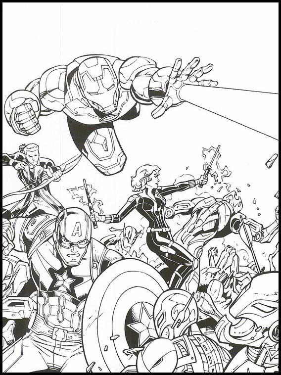 malvorlagen avengers ultimate - tiffanylovesbooks