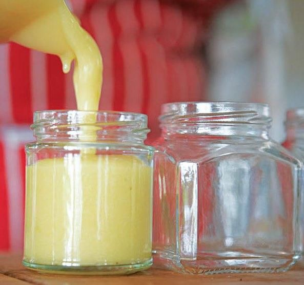 River Cottage | Bramley Lemon Curd - softly sweet, tangy and delicious!