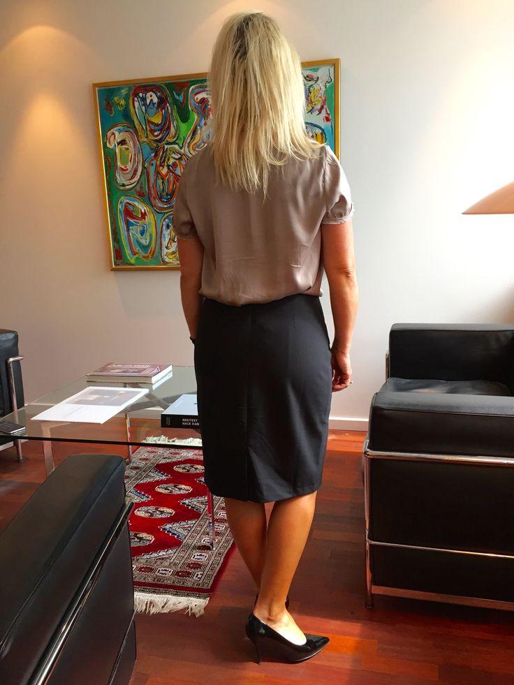 Black Dress by Elefteria #lbd #littleblackdress #lbdmoments #littleblackdressdk #black pencil skirt #pencil skirt