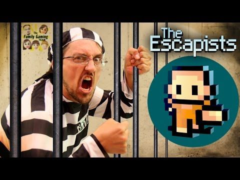 Duddy tries to Escape from Jail! Lets Play THE ESCAPISTS! (FGTEEV Gameplay) - YouTube