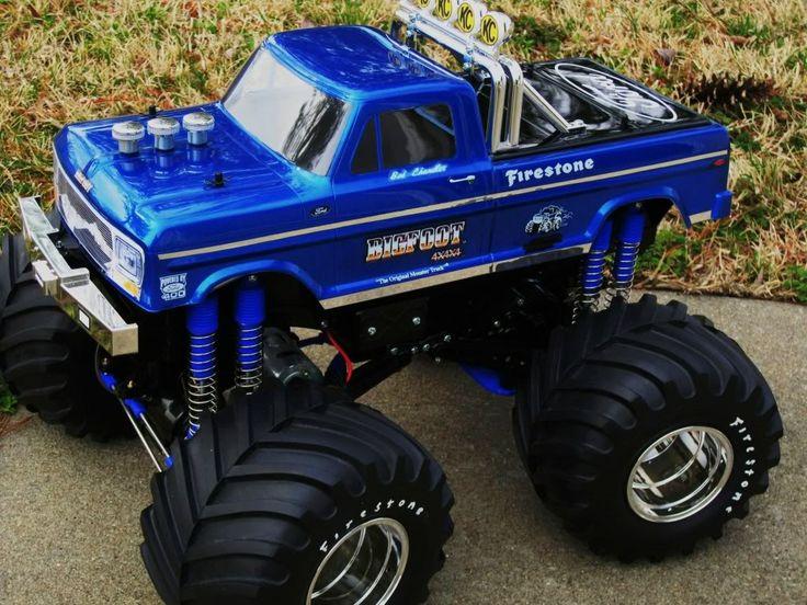 bigfoot monster truck wallpaper