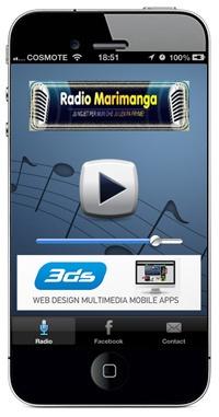Radio Marimanga, Albanian radio in Denmark iphone app is online!