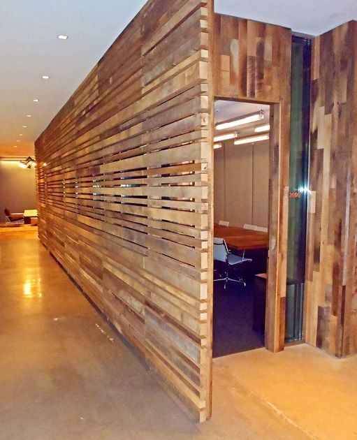 Wood Slat Screen Wall ~ Best images about creative wall ideas on pinterest