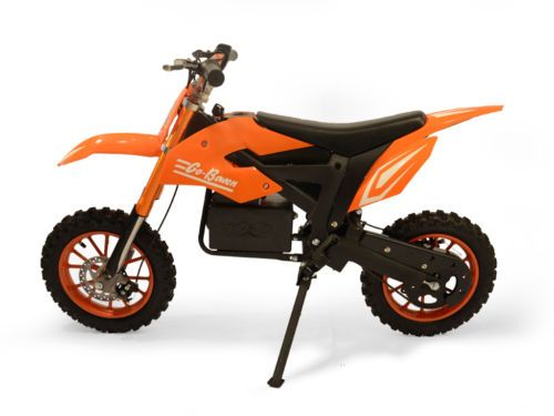 E-Wheels DAKAR Dirt Bike For Kids. Electric Dirt Bike Orange Sale Ending Soon $350