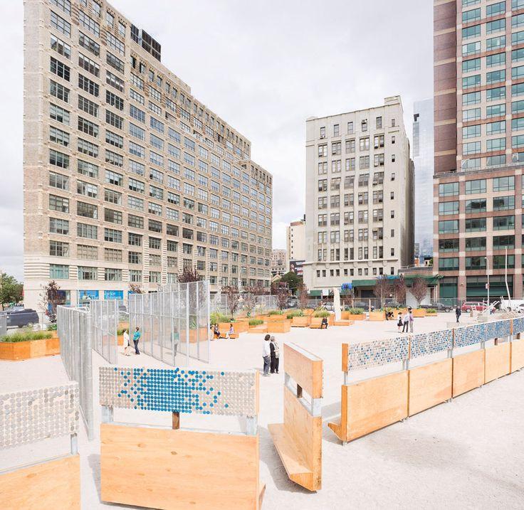 Em Detalhe: Mobiliário Urbano do Projeto LentSpace / Interboro,© Interboro