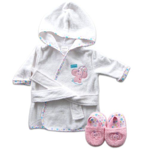 Luvable Friends Woven Terry Baby Bath Robe with Slippers, Pink Luvable Friends http://www.amazon.com/dp/B00CMOOC7O/ref=cm_sw_r_pi_dp_iGtzwb0A5KJ6S