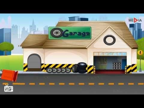 Auto della polizia, Polizia cartoni animati, Video polizia per bambini