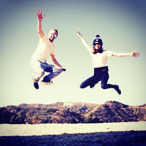 Tom Felton & Jade Olivia Gordon 2015