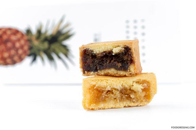 Le Blanc Desserts Pastries Vancouver Taiwan Pineapple Cakes Nougats Confections