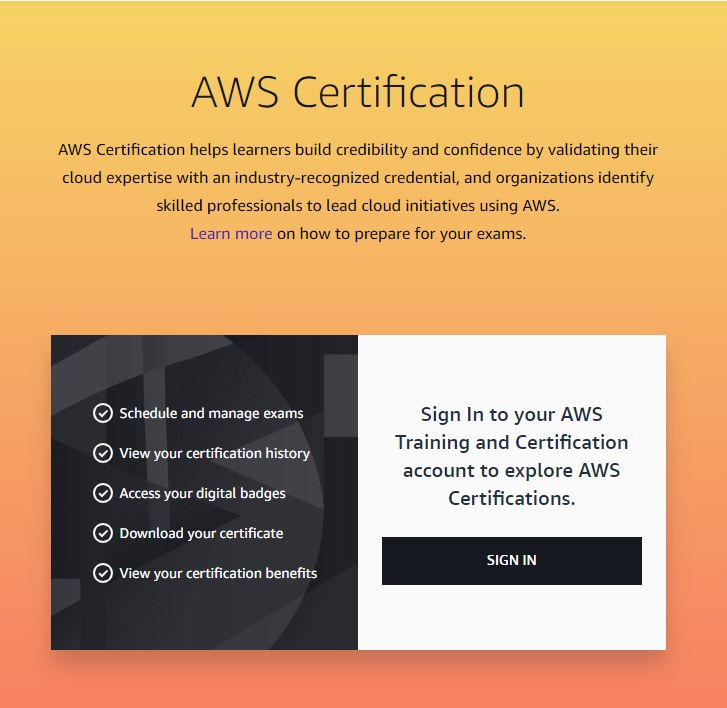 Free aws certification from amazon resume examples