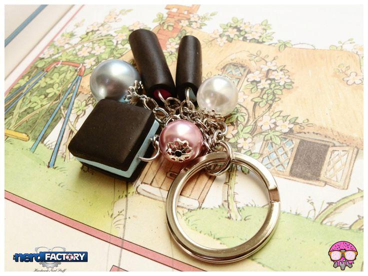 Liquirizie key ring, hand-made! http://www.thenfactory.com/prodotto/liquirizie-ripiene/