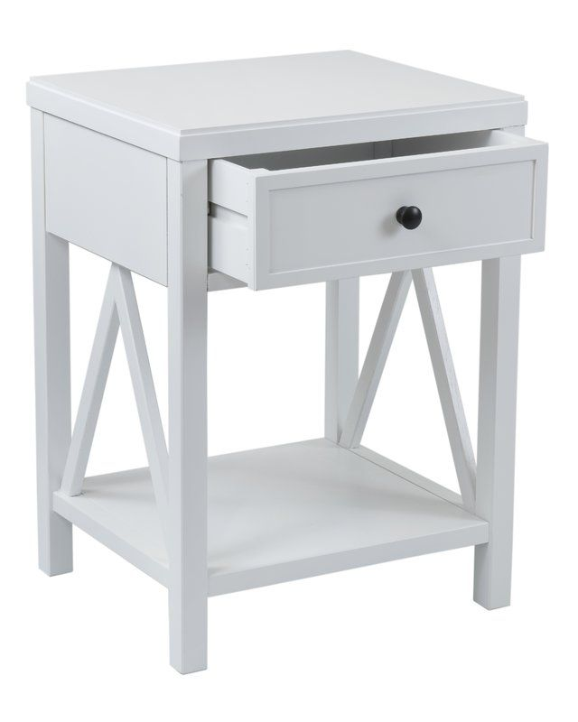 Nealon End Table With Storage Square Accent Tables End Tables
