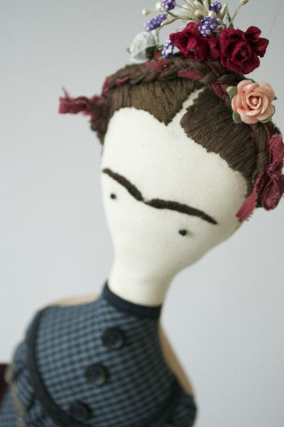 Vinny are handmade in Dubai and shipped worldwide. Buy online Frida doll made…