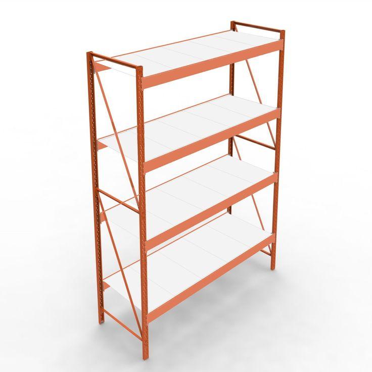 Raft cu polite pentru depozitare usoara | Rafturi depozitare | Rafturi metalice online · Rafturi magazin · Rafturi depozitare · Mobilier comercial