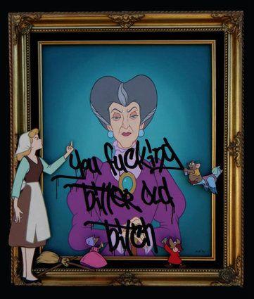 Par José Rodolfo Loaiza. #Profanitypop #Cinderella #Disney