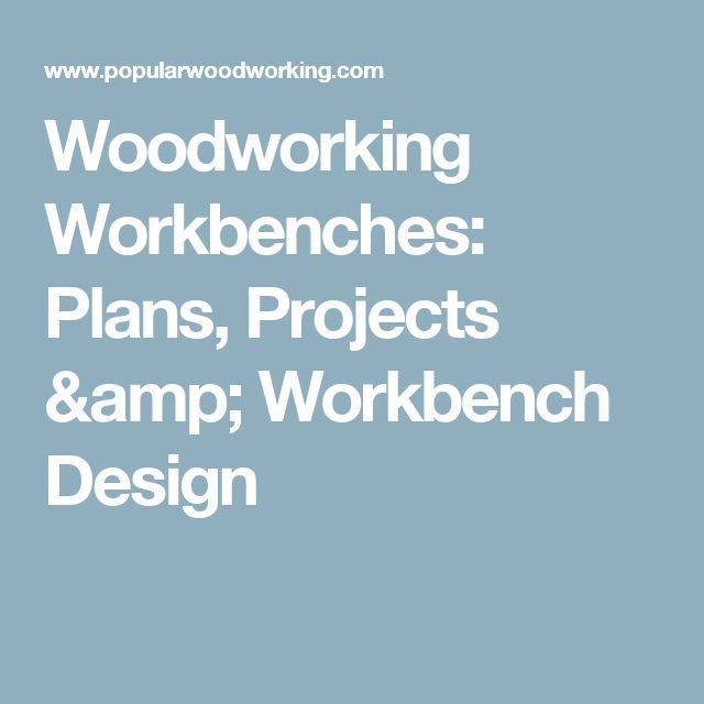 25+ best ideas about Workbenches on Pinterest | Workshop ...