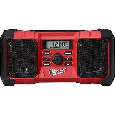 Radio Tuners: Milwaukee 18V 2890-20 M18 Job Site Radio -> BUY IT NOW ONLY: $143.6 on eBay!