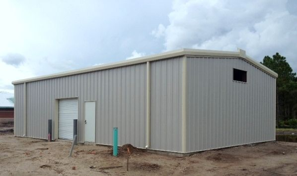 30 X 50 Cape Coral Army Reserve Steel Building To Be Used