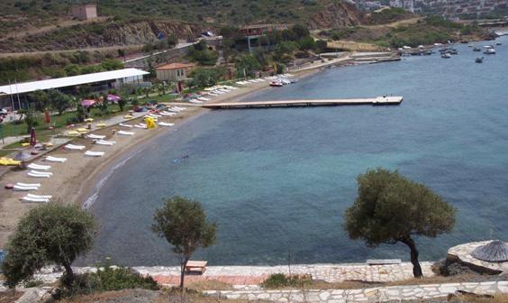 Mavi Bayraklı Plajlar  Pollen Tatil Köyü Foça, İzmir