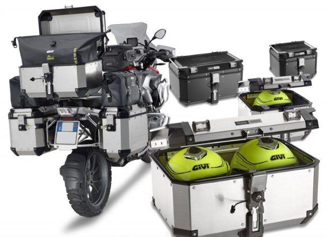 El fabricante de accesorios de moto GIVI ha lanzado sus nuevas maletas de moto de aluminio de alta c