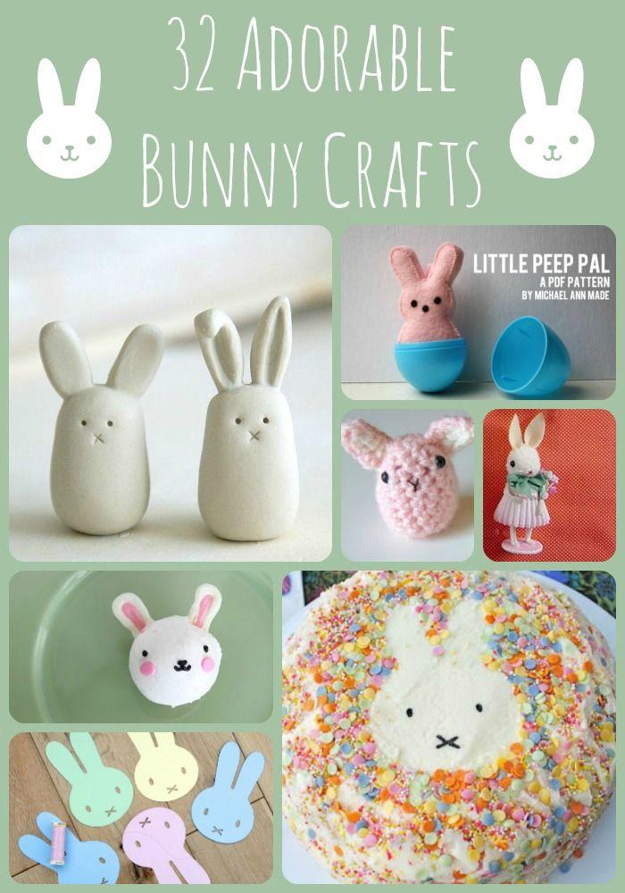 32 Adorable Bunny Crafts