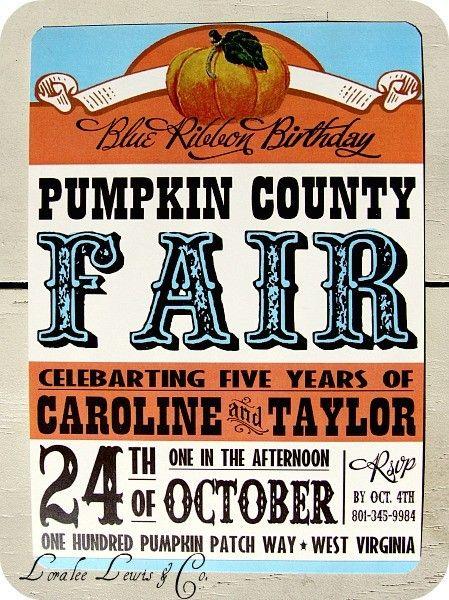 County Fair party??