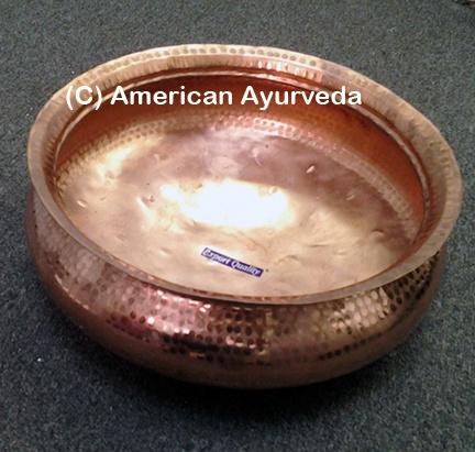 Large Copper Bowl Copper Foot Bath Copper Accessories