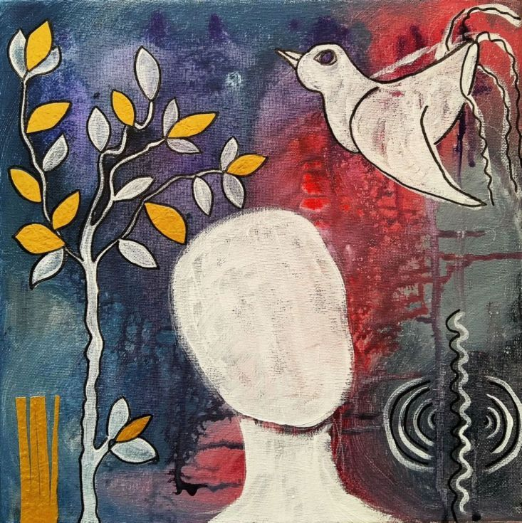 Buy Tranquility, Mixed Media painting by mimulux patricia no on Artfinder…