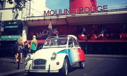 Parisauthentic à Paris : Tour de Paris en 2CV: #PARIS 79.90€ au lieu de 100.00€ (20% de réduction)