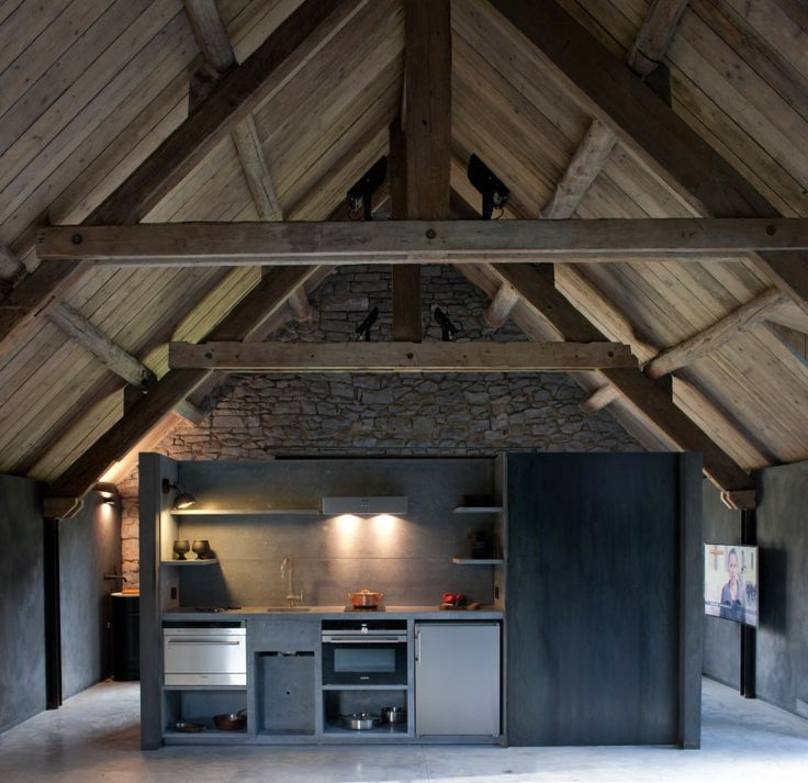 Beton Keuken.Nl : Train Station Converted into Home