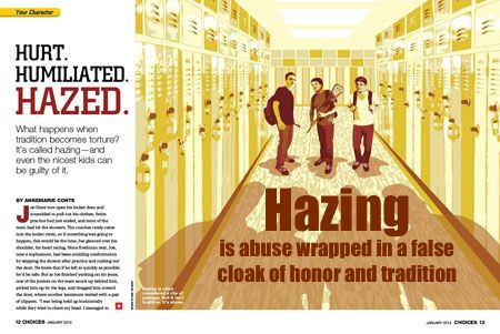 the issues and dangers of hazing Whether it be from dangerous hazing incidents, alcohol poisoning or drug  overdoses, we need to continue to combat the problems causing.