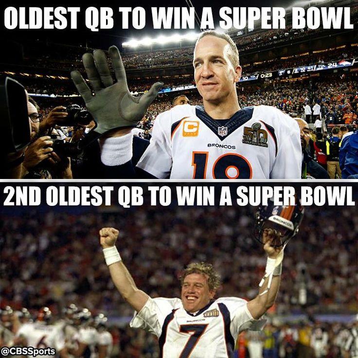 Peyton Manning & John Elway Denver Broncos