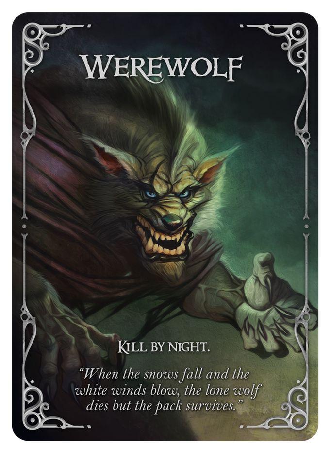 Wolfed (werewolf card game) by Nikolay Nedev — Kickstarter