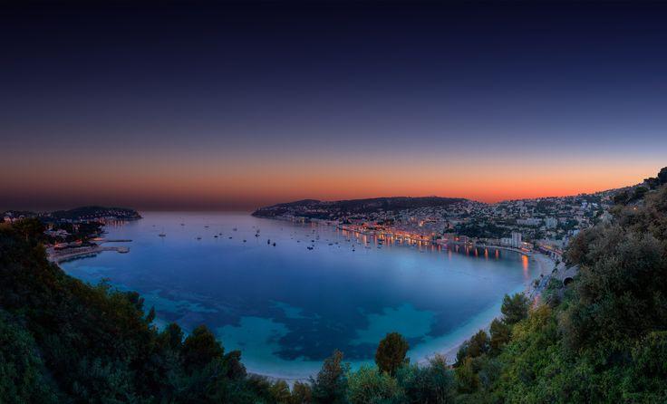 Un magnifico tramonto in Costa Azzurra #villafranca #costaazzurra #francia #paesaggi #luigimasciotta