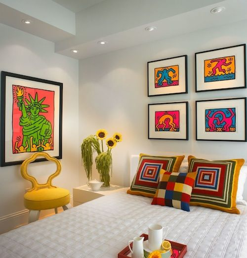 inspiring color ideas to add pizzazz in your home interior - Bright Color Bedroom Ideas