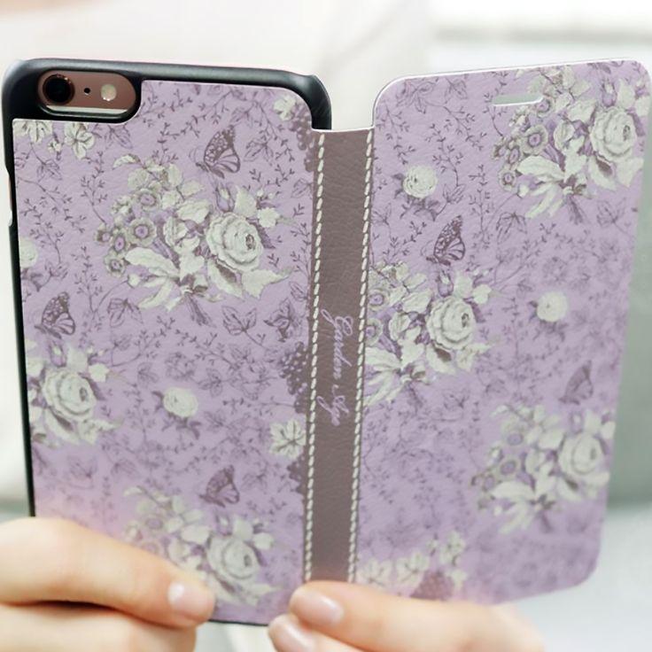 플립형-가든에이지 바이올렛 Garden Age - violet