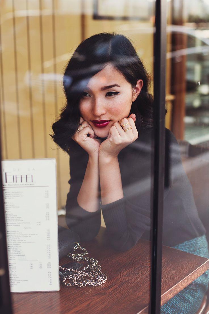 LOCATION: PARIS Zara Singlet and Skirt / Jimmy Choo Heels / Mulberry Bag / Jennifer Zeuner Necklace and Ring