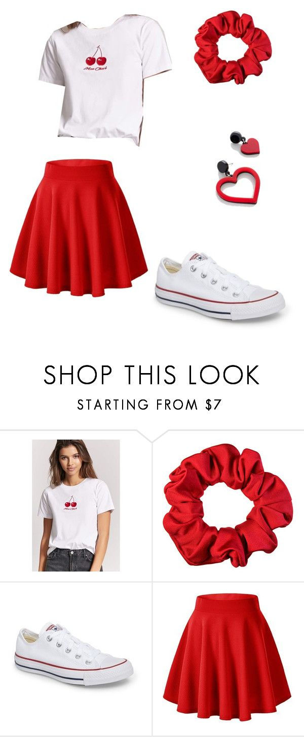 samantha - outfit 1 by electrasweetheart on Polyvore featuring Forever 21 and Converse