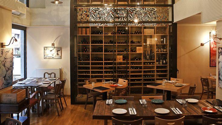 Ευχάριστος χώρος, chef με δημιουργικές αναζητήσεις και καλή λίστα κρασιών.