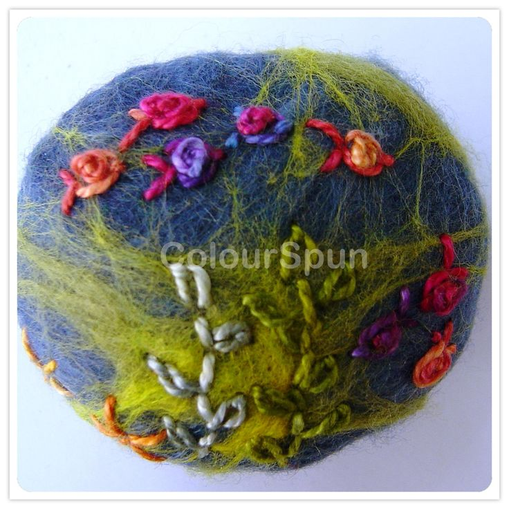 Felted Paper Weight